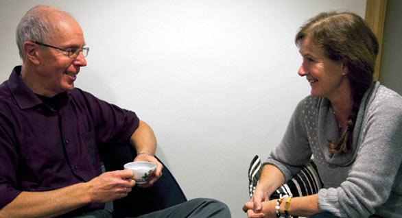 Tore Laugerud og Liv Hegle Sjøflot