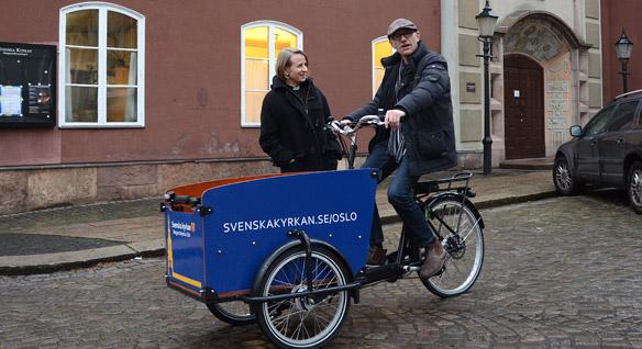 Sykkelen Den svenska kyrkan har skaffet seg.
