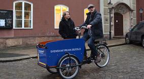 Treffer unge svensker fra sykkelsetet