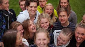 Ung på Kalvøya